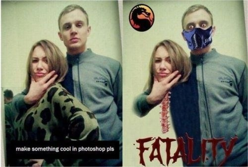 Mortal Kombat,fatality,photoshop