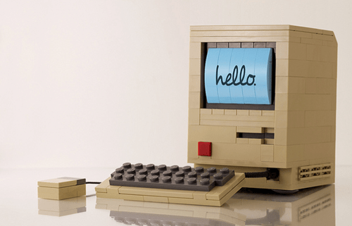 old class lego computer mac apple - 7039500032