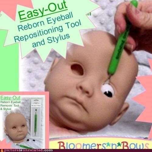 baby remove doll eye classic