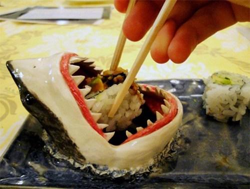sushi design cute shark g rated win