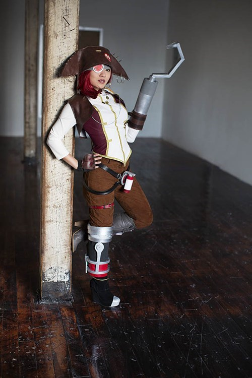 cosplay,captain scarlett,borderlands 2,video games