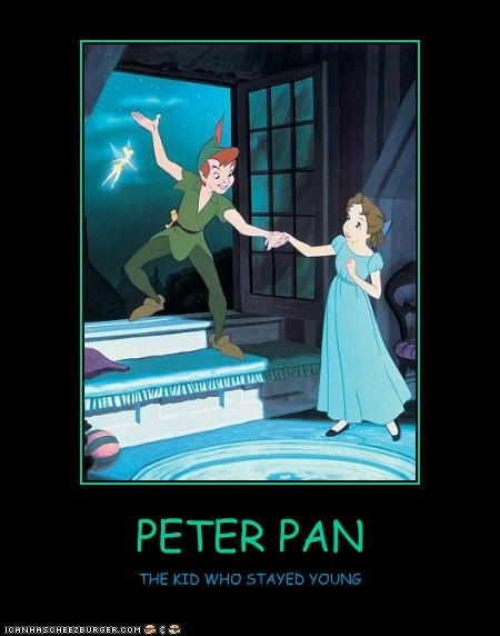 PETER PAN THE KID WHO STAYED YOUNG