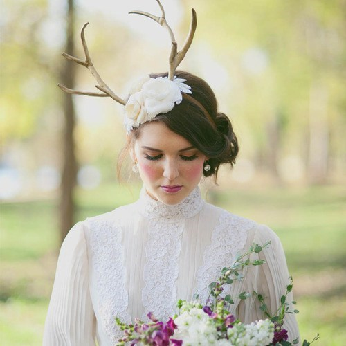 antlers horns deer headpiece weird - 7039758848
