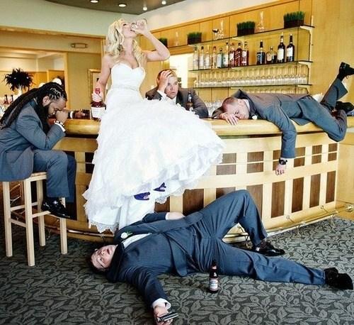 drinking alcohol bride Groomsmen booze - 7039760128