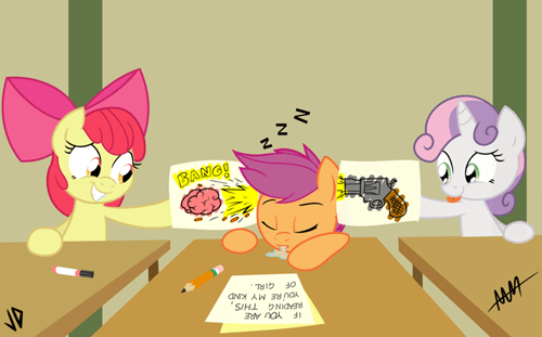 humiliation,art,cute,cutie mark crusaders