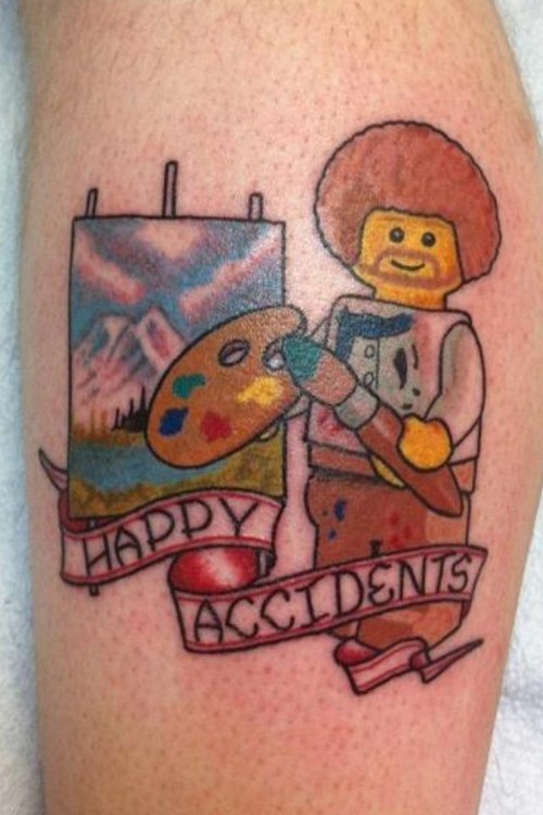 lego,bob ross,win,g rated,Ugliest Tattoos