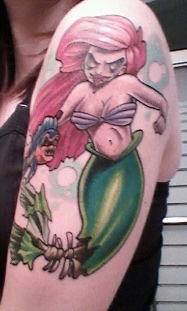 ariel arm tattoos The Little Mermaid - 7041546752