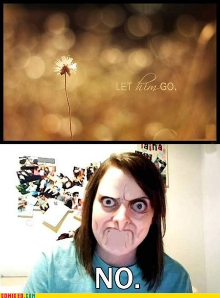 no face overly attached girlfriend - 7041678592