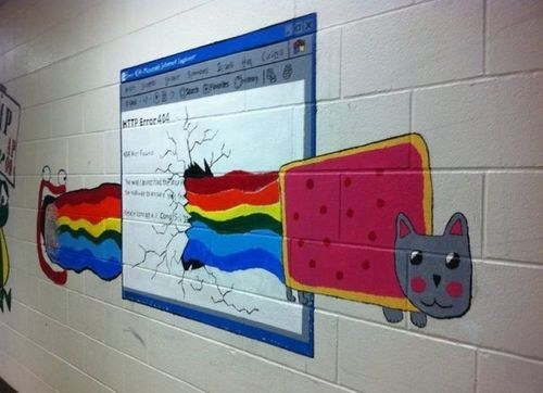 IRL internet Nyan Cat - 7041832960