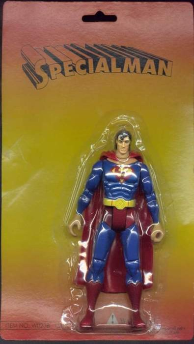 Close Enough superman action figure - 7041865984