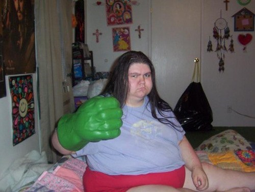 angry fist hulk - 7041872896