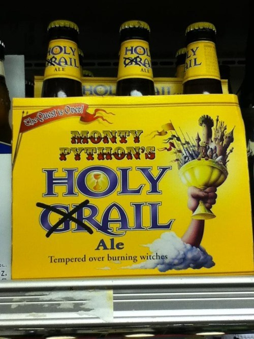 beer monty python holy grail ale after 12 g rated - 7041913344