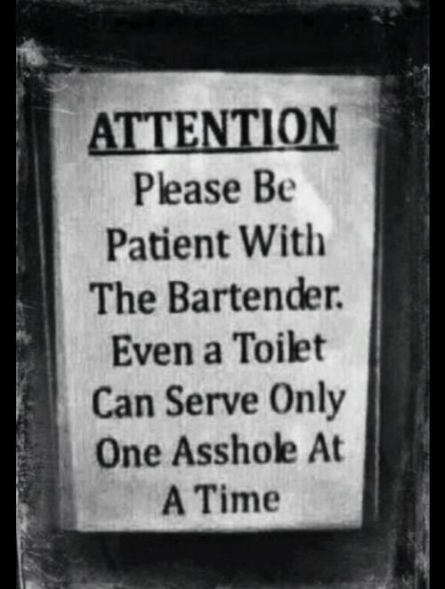 bars alcohol drunk people attention bartenders after 12 - 7041936896