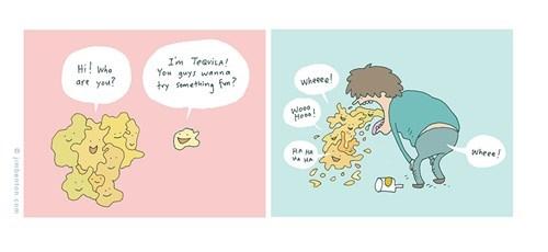 puking jim benton comics tequila too drunk