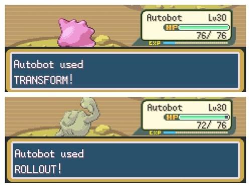 transformers Pokémon geodude autobots ditto - 7041964544