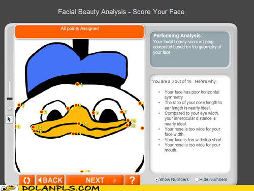 face,ugly,facial beauty analysis