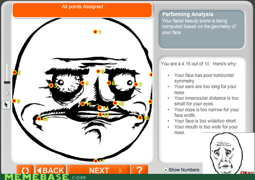 me gusta Okay facial analysis hot scale - 7042225920