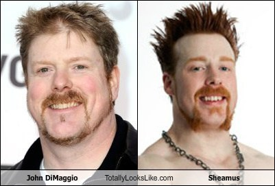 wrestler professional wrestler bender voice actor TLL sheamus john dimaggio futurama