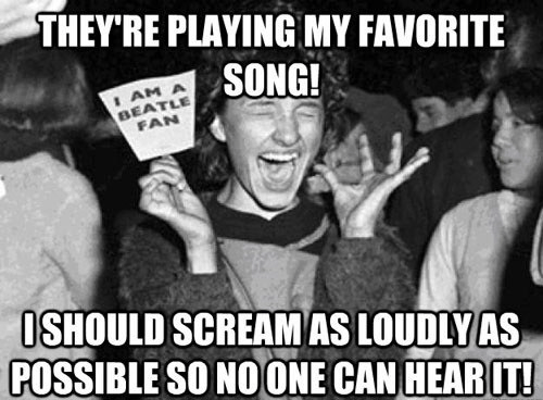 beatles,scream,fans,girl