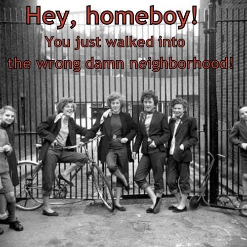 hooligans bad neighborhood girls trouble - 7042288384