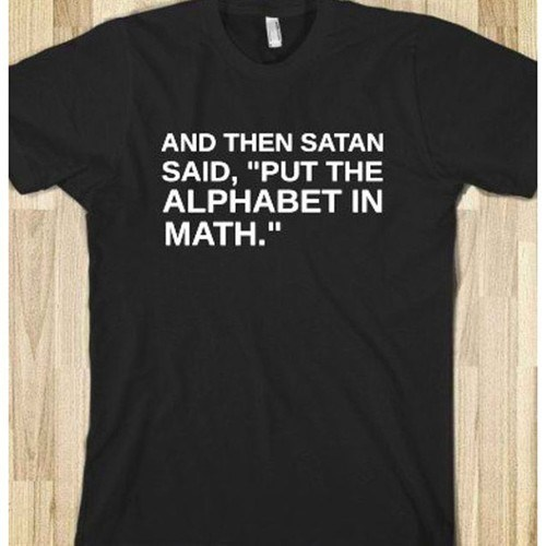 alphabet,devil,math
