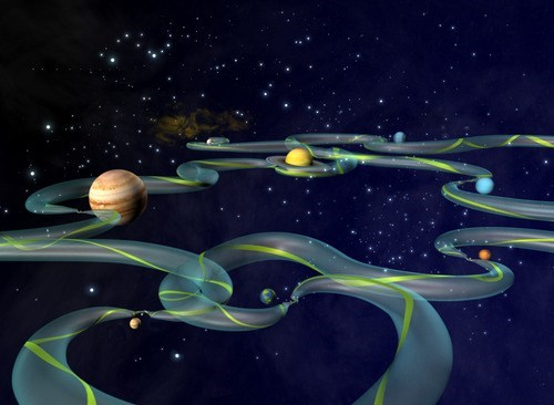 planets,Gravity,solar system,science,superhighway