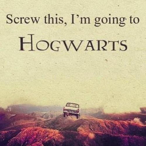 screw it,blame,Hogwarts