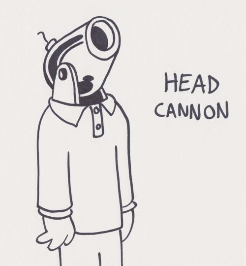 cannon head headcanon literalism homophone - 7042497280