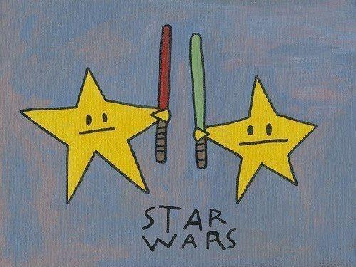 lightsaber,star wars,literalism,stars