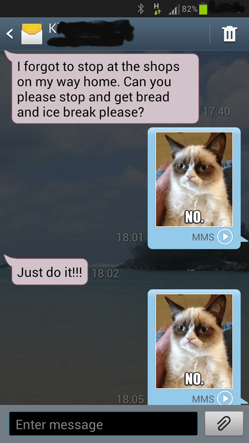 does not approve Grumpy Cat androids - 7042682368