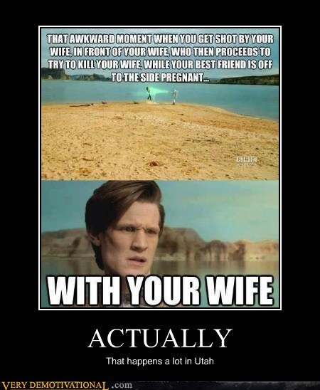 Awkward wife doctor who utah - 7042768896