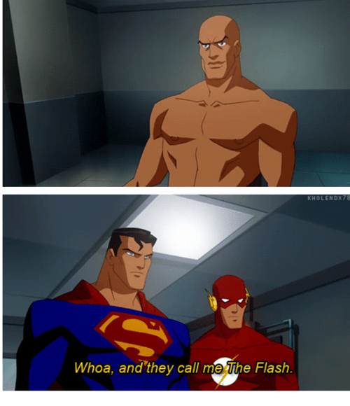 Saturday Morning Cartoons,wtf,pants,lex luthor,flash