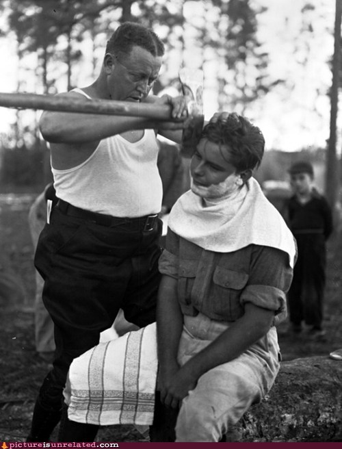 shaving,good old days