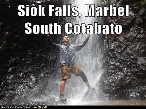 Siok Falls, Marbel South Cotabato