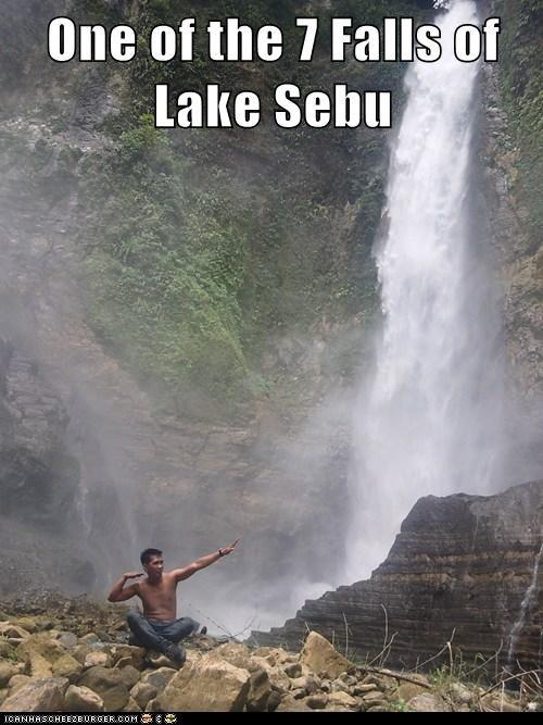 One of the 7 Falls of Lake Sebu