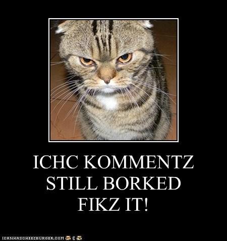 ICHC KOMMENTZ STILL BORKED FIKZ IT!