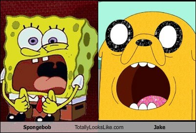 Spongebob Totally Looks Like Jake