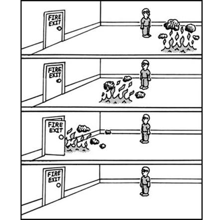 comic fire exit - 7044592896