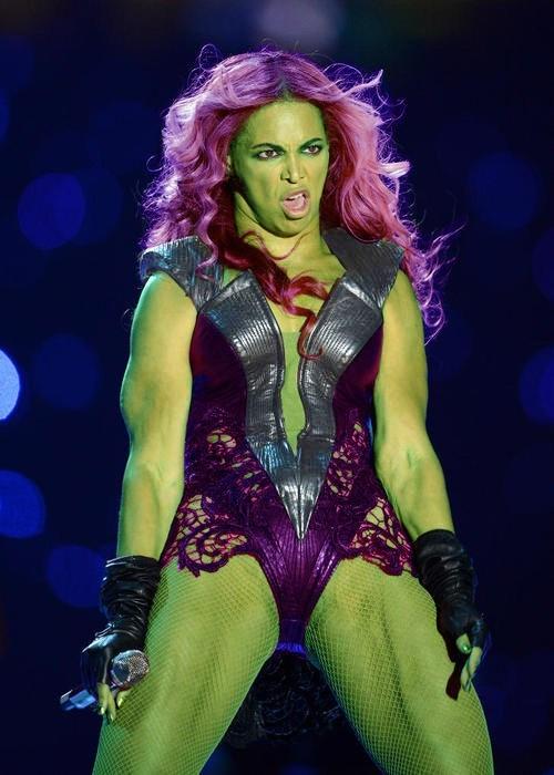 beyoncé halftime show she hulk - 7044659712