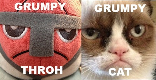 Grumpy Throh