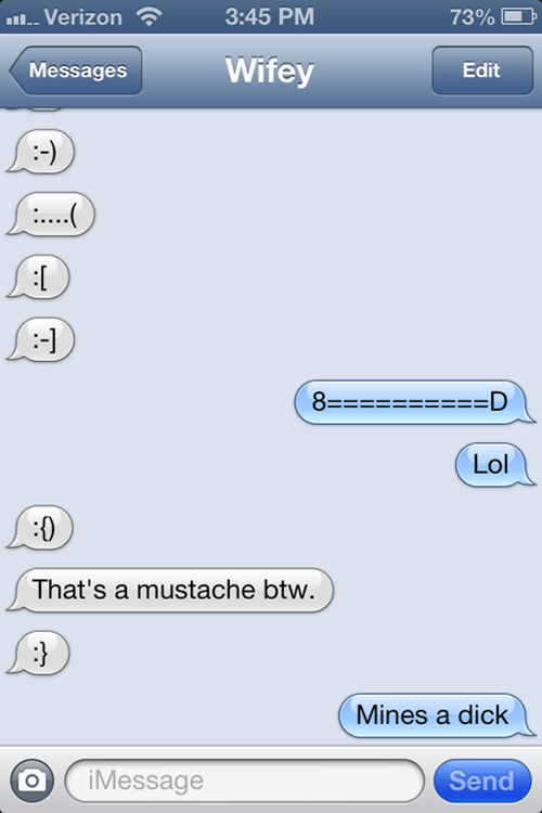 iPhones emoticons manjunk mustaches - 7044807680
