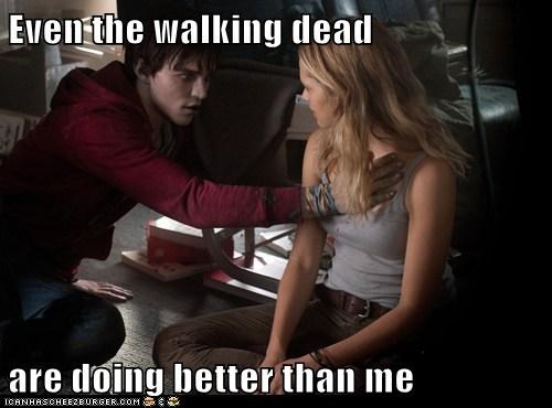 forever alone zombie groping warm bodies - 7044816128