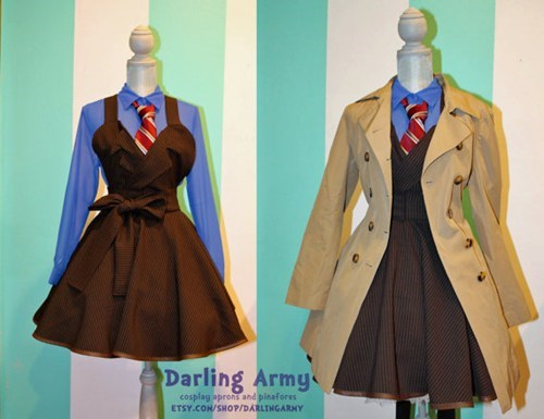 fashion,doctor who,pinafore,style