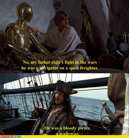star wars movies Pirates of the Caribbean - 7044990976