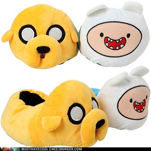 Jake,slippers,finn,adventure time