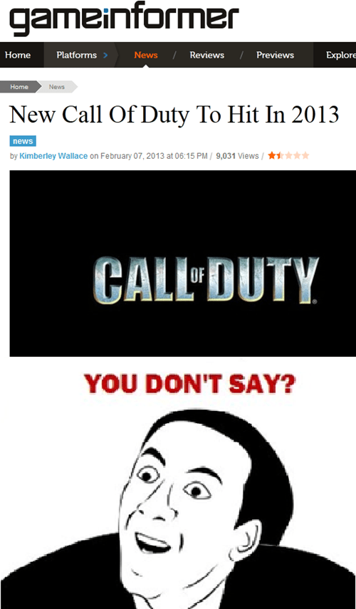call of duty,annoying,you dont say,duh