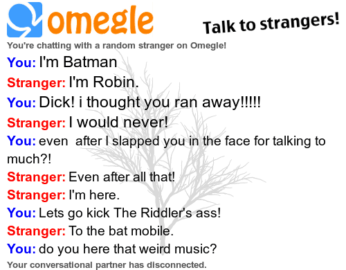 batman Omegle robin the riddler - 7045632256