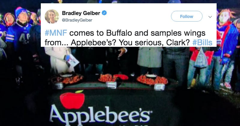 espn sports trolling football applebees funny - 7046149