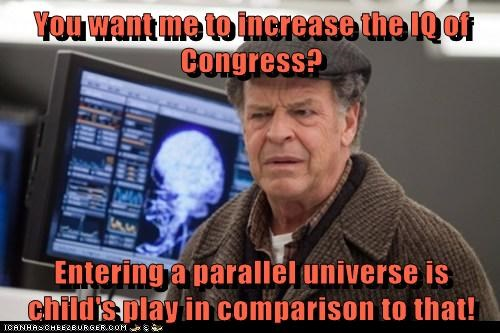 Walter Bishop John Noble Fringe intelligence Congress - 7046152704