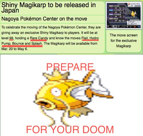 magikarp ahhhhh shiny hydro pump - 7046753536